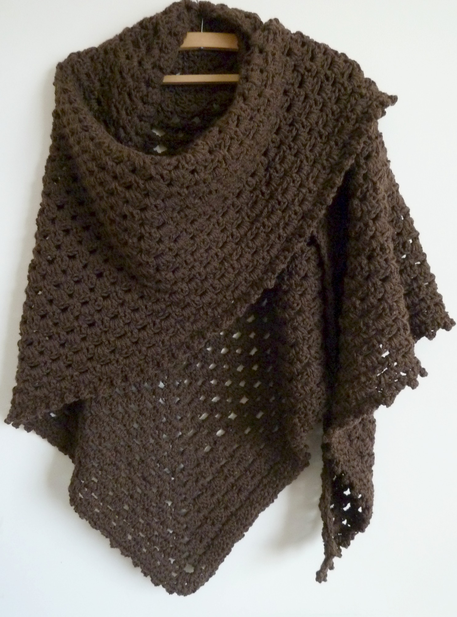 shawls, ponchos, wraps knit and crochet patterns
