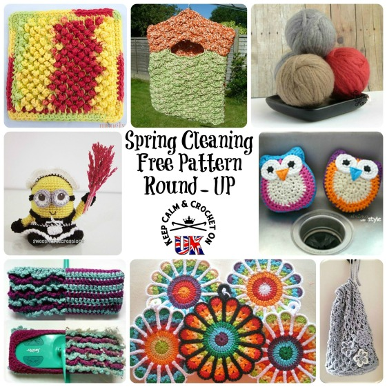 https://keepcalmandcrochetonuk.wordpress.com/2014/03/20/8-ways-to-make-chores-more-fun-free-pattern-round-up/