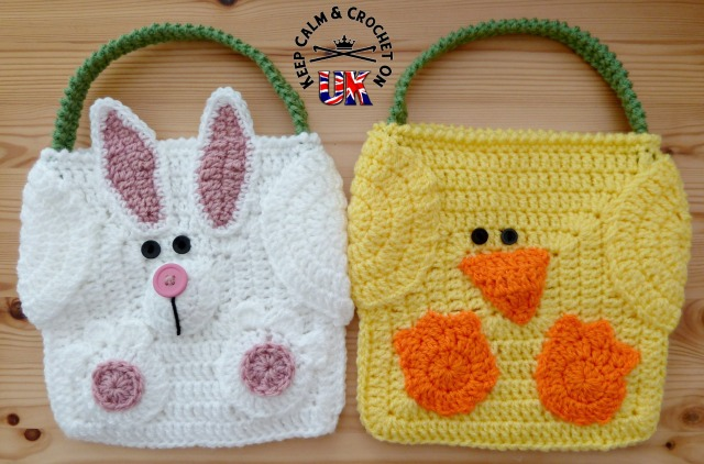Easter Bag Buddies: A Keep Calm and Crochet On UK Pattern