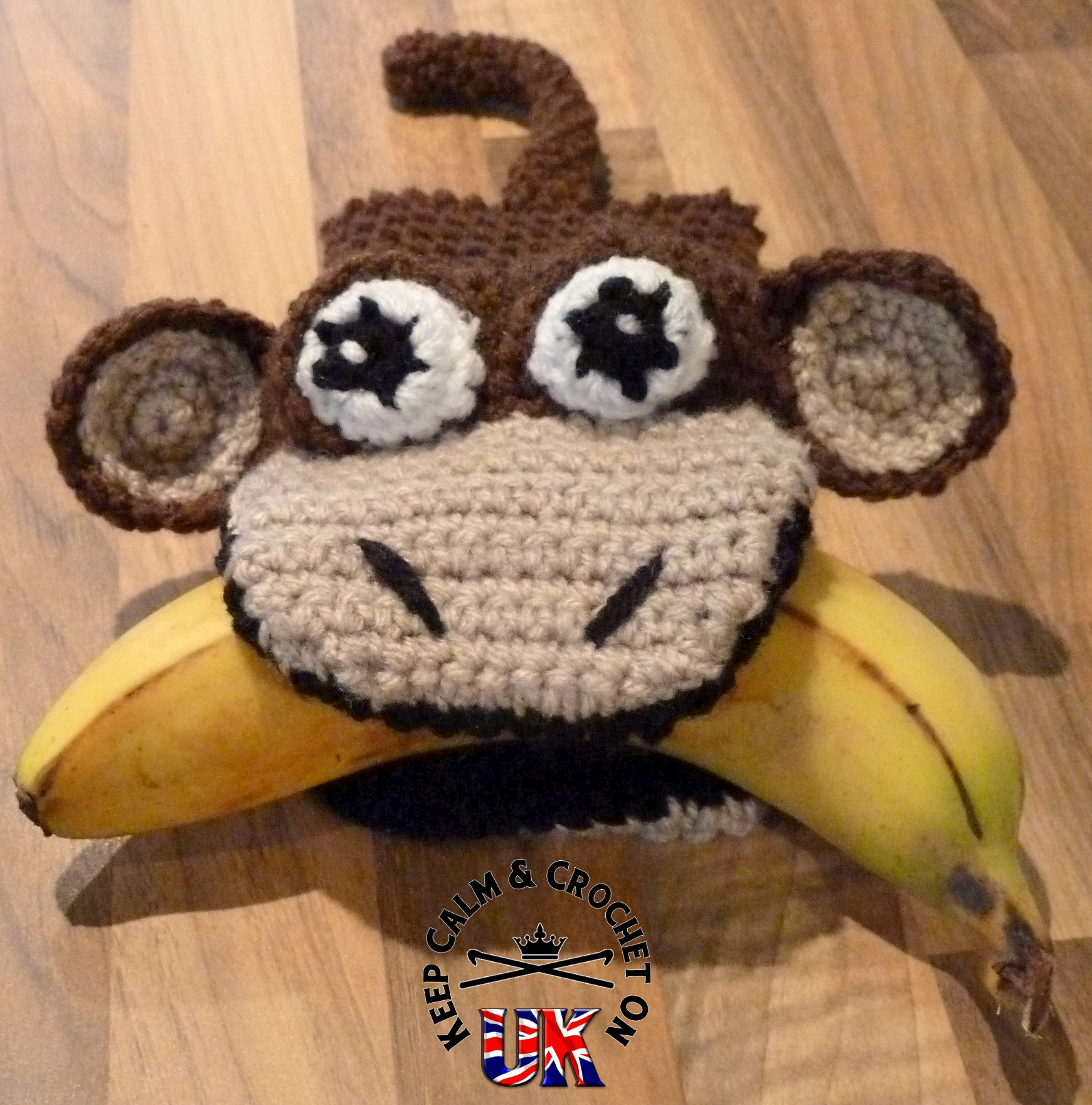Pattern Release My First Puppets Michael Monkey Keep Calm And