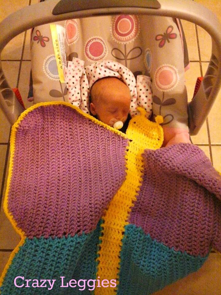 Pattern Release Butterfly Dreams Car Seat Swaddle Blanket Keep