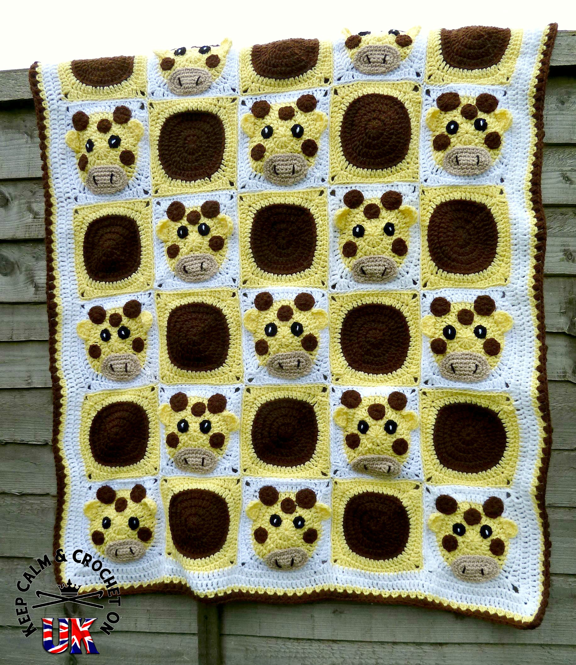 Pattern release: Spot the Giraffe Blanket Keep Calm and ...
