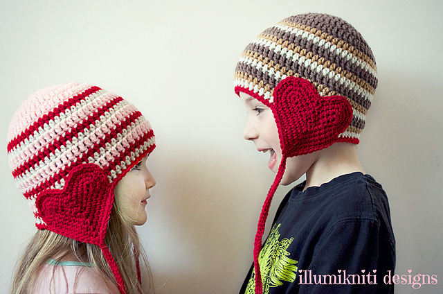 https://hodgepodgecrochet.wordpress.com :: Valentine Roundup :: illumikniti designs
