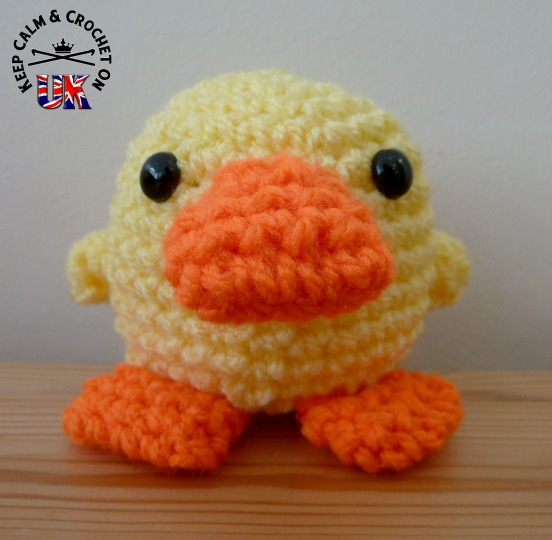 The Little Yellow Duck Project Keep Calm And Crochet On Uk