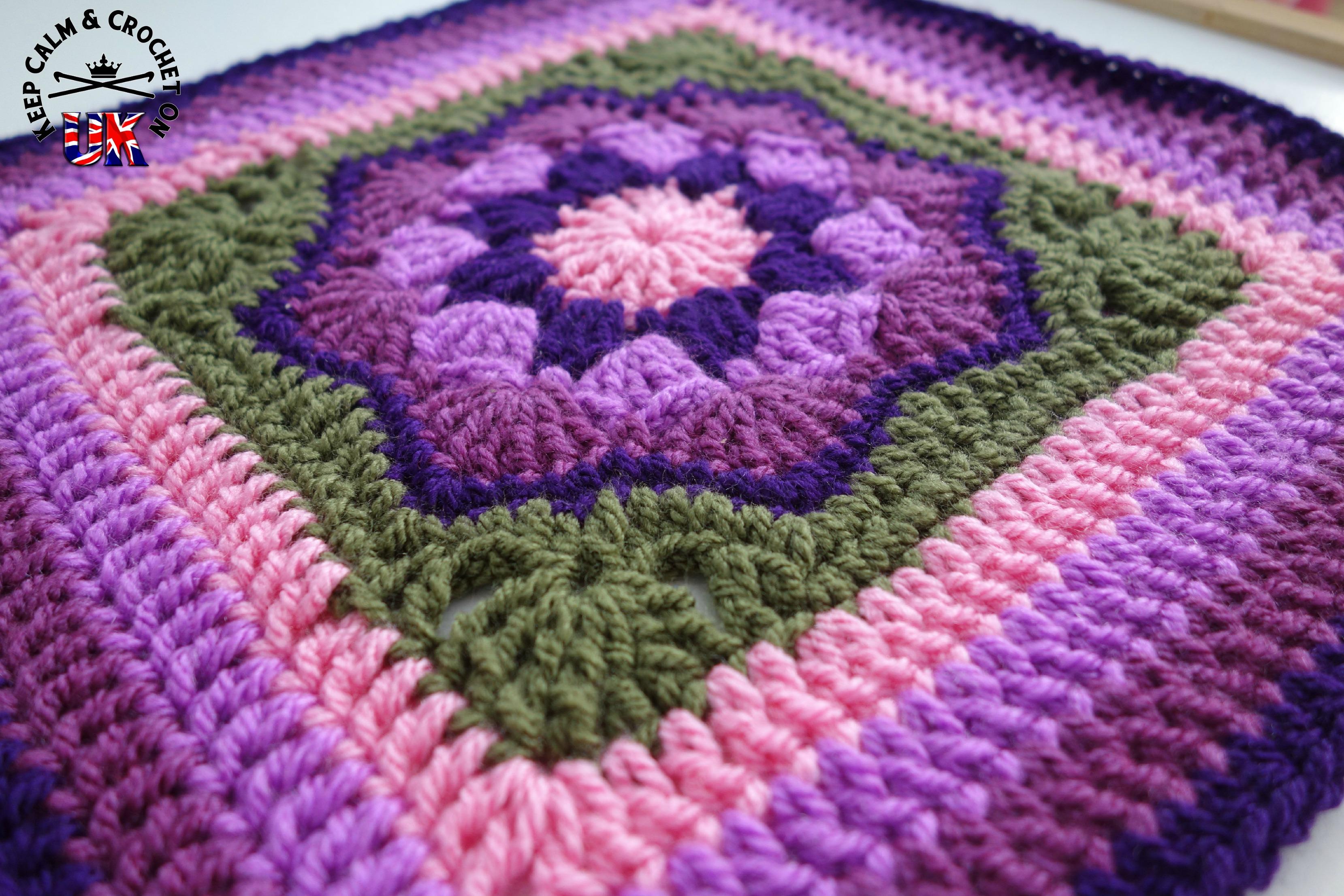 Larksfoot Crochet Afghan Pattern : Larksfoot Afghan Crochet Pattern Related Keywords ...
