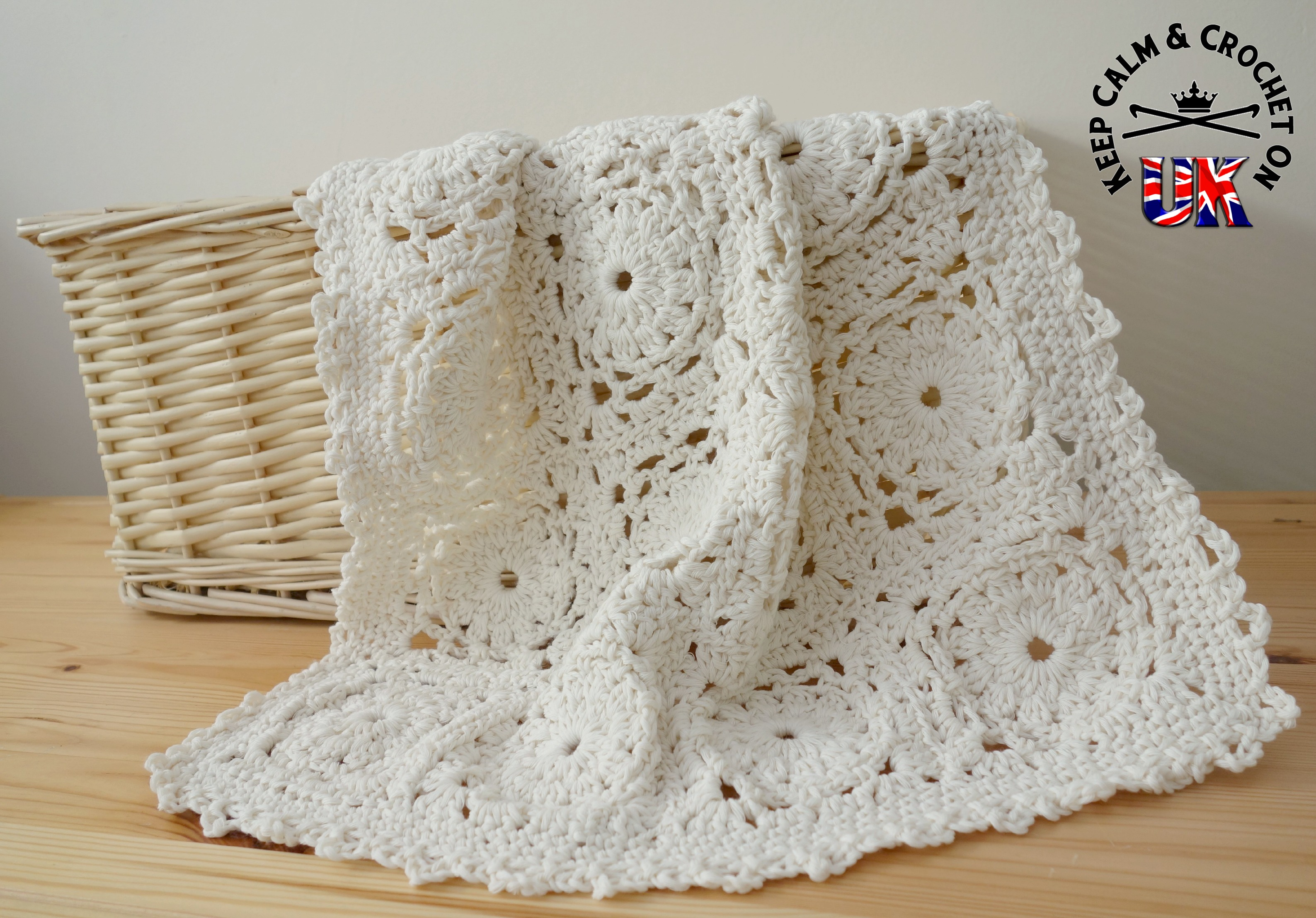Pattern Release: Daisy Chain Flourish Blanket | Keep Calm and ...