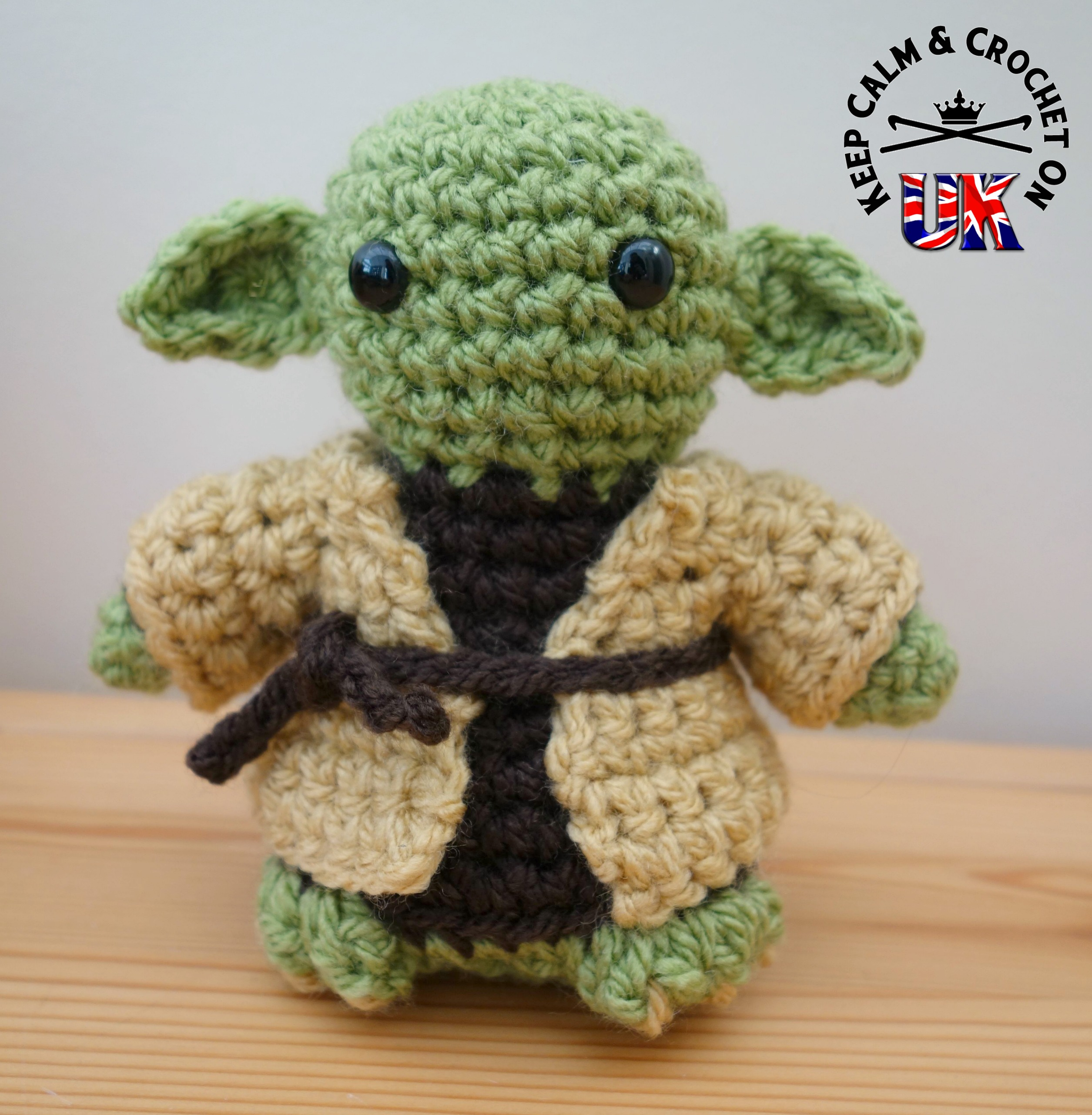 Crochet Yoda Pattern : Crochet Book Reviews Star Wars Crochet by Lucy Collin Keep Calm ...