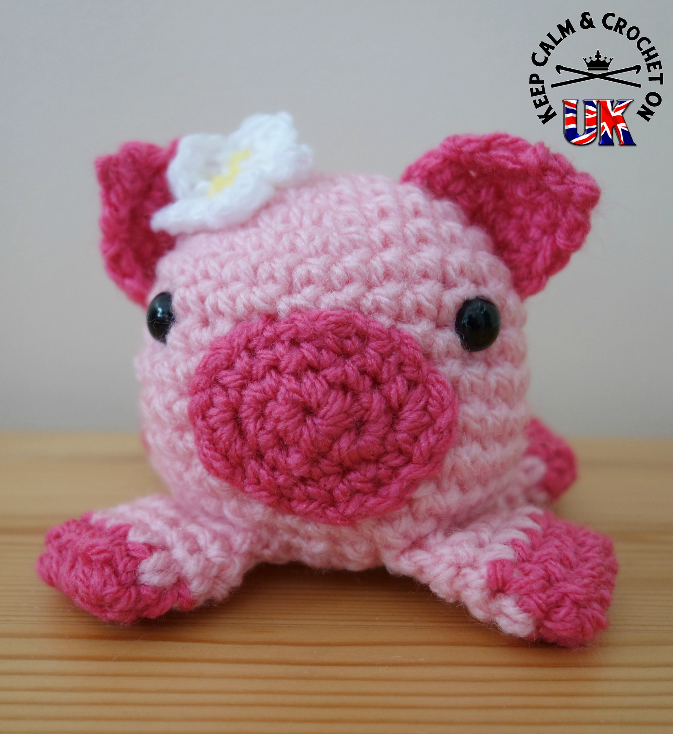 Doodle Zoo No. 6: Petunia the Pig | Free Pattern | Keep Calm and ...