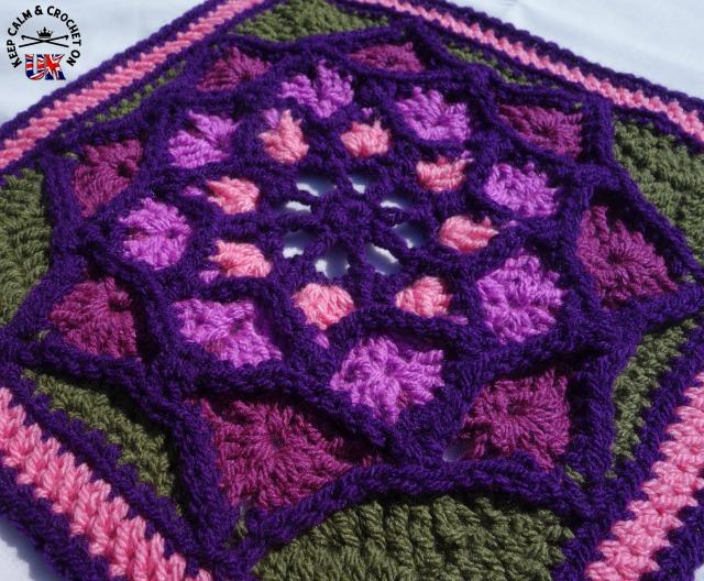 Kcaco Uk Afghan Cal 2015 Block 20 Keep Calm And Crochet On Uk