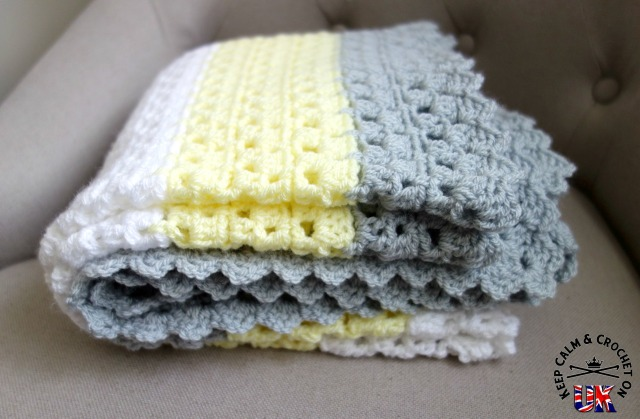 Free Pattern Superbly Simple Baby Blanket Keep Calm ...