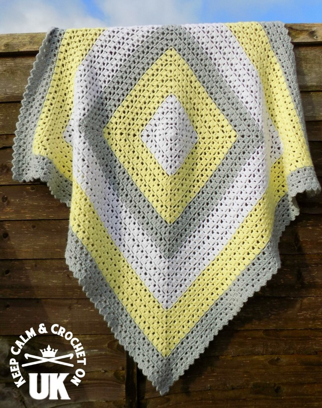 Free Pattern Superbly Simple Baby Blanket Keep Calm And Crochet
