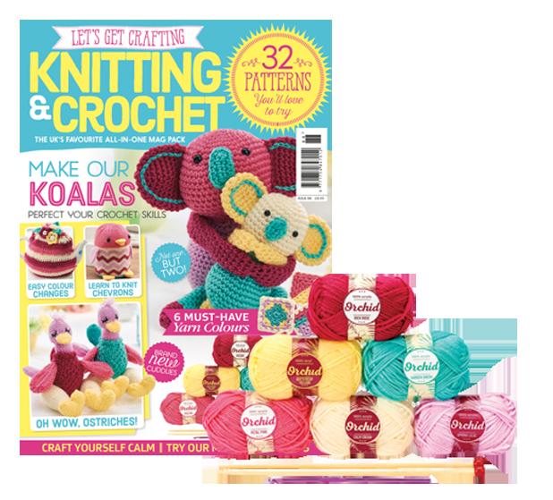 Lgc Knitting Crochet Magazine Colourful Koalas Keep Calm And