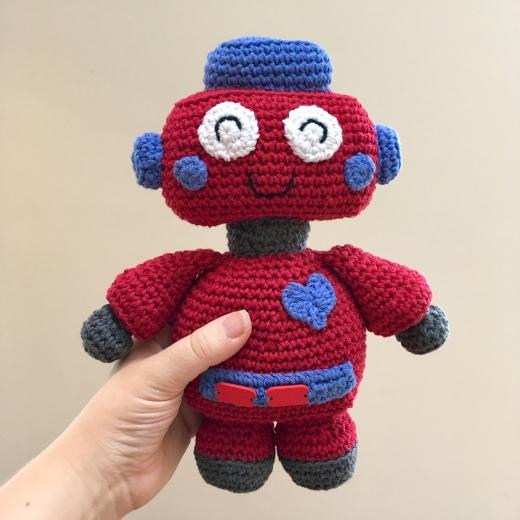 Crochet Robot Keep Calm And Crochet On Uk