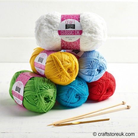 Stanley Snowman yarn