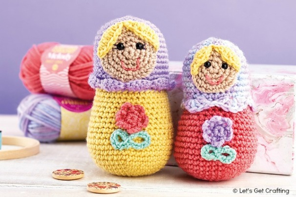 Lgc Knitting Crochet Magazine Russian Dolls And Cacti Collection