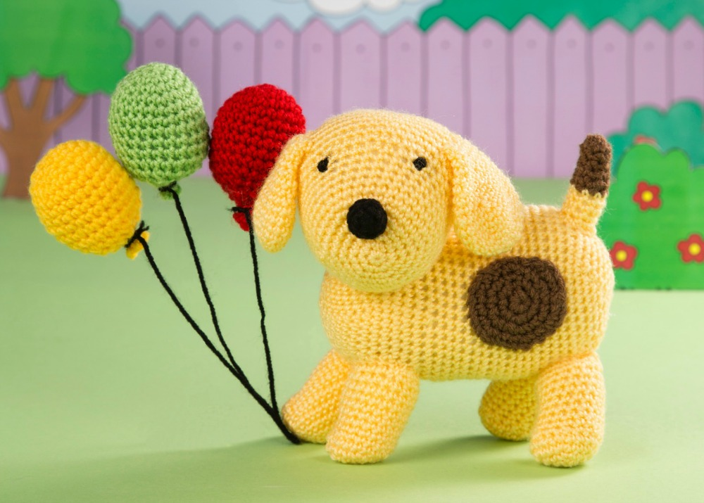 Crochet Spot the Dog Amigurumi in Issue 41 of Crochet Now by Heather C Gibbs
