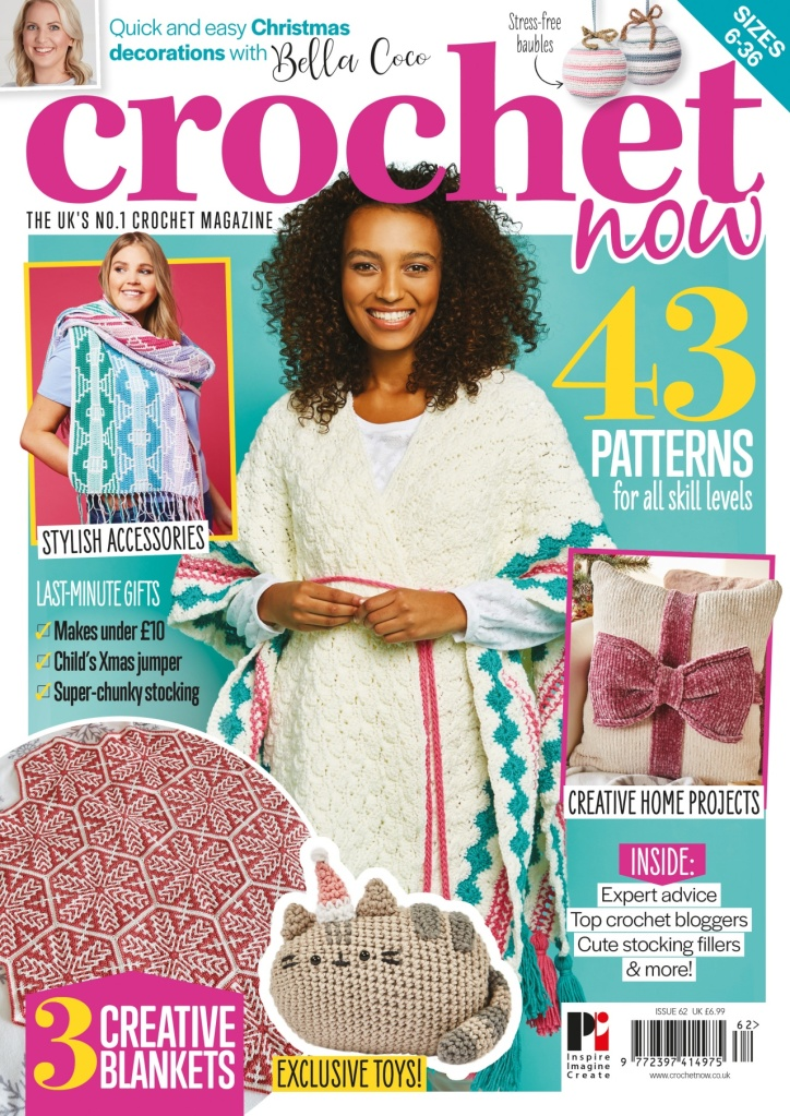 Crochet Now magazine cover of Issue 62